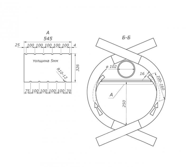 Булерьян чертеж схема