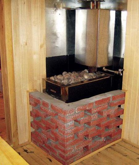 Печь на угле для бани своими руками фото 364