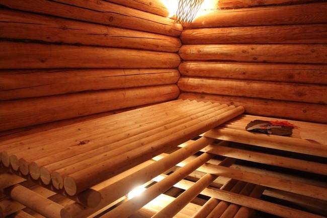 Полка в баню  фото 118