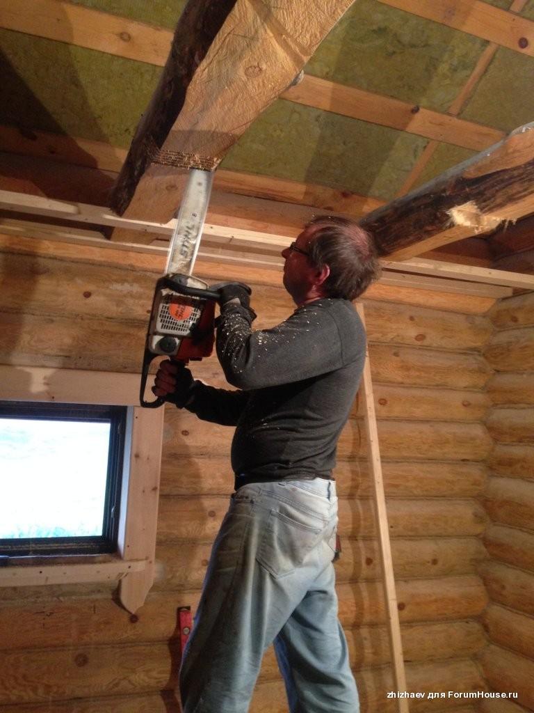 Потолок в доме пошаговое руководство