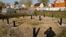 Строительство каркасной бани своими руками - от фундамента до крыши