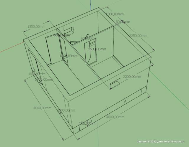 Как построить маленькую баню своими руками