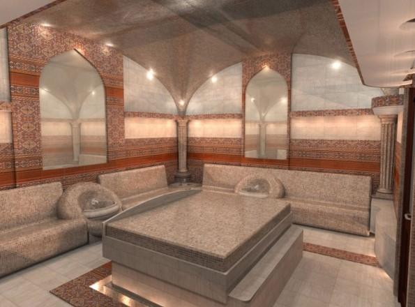 Чебек-таши - турецкая баня хамам