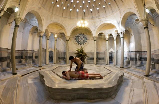 Комната для «омовения» тела - Баня хамам