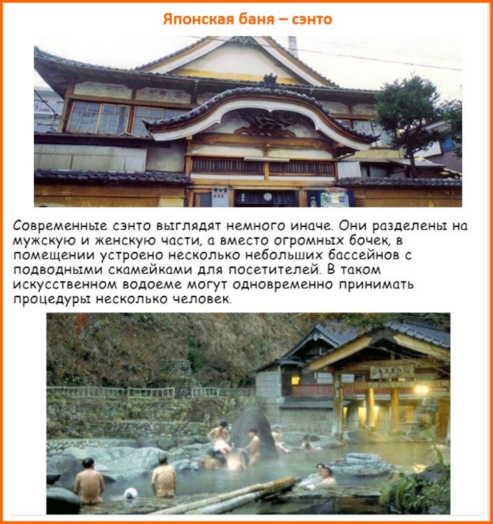 Японская баня - Сэнто